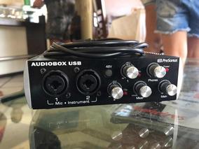 Áudiobox Usb + Akg P120 (kit De Gravação)