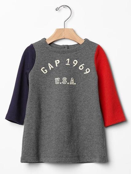 Vestido Multicolor Baby Gap Lindo!!!! (eua)