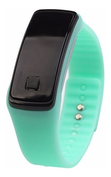 Reloj Color Aqua, Plástico Moda, Unisex.