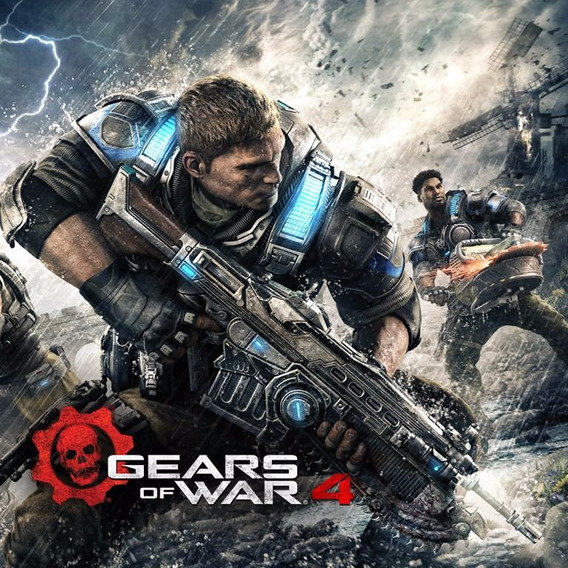 Gears Of War 4 Pc Windows 10 Online Pre-vendas