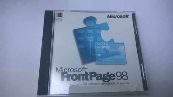 Microsoft Frontpage 98 Original
