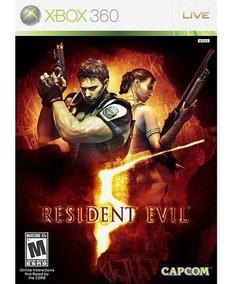 Resident Evil 5 - Xbox 360 Mídia Física