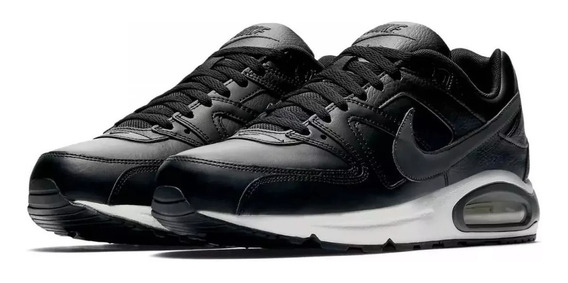 Tênis Nike Air Max Command Leather Preto