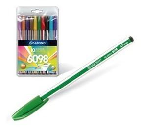 2 Paquetes Increibles Boligrafos De Colores Sabonis
