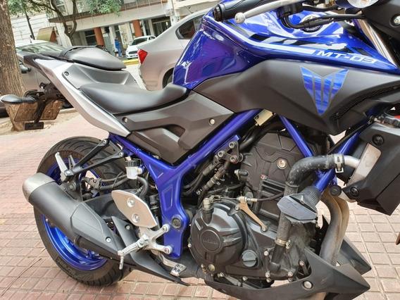 Yamaha Mt03 2017 6.000 Km. Único Dueño. Excelente Estado.