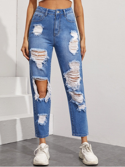 Pantalones Rotos De Atras De Las Piernas Mercadolibre Com Mx