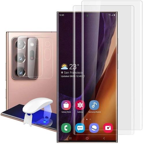 Protector De Lentes De Cámara De Galaxy Note 20 Ultra (2 Un)