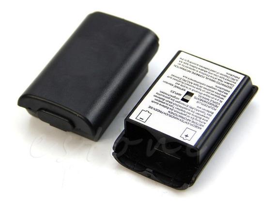 Tampa Bateria Suporte Pilhas Controle X Box360 Kit Com 2 Pçs