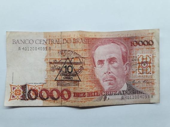 Nota Dinheiro Antigo Cedula