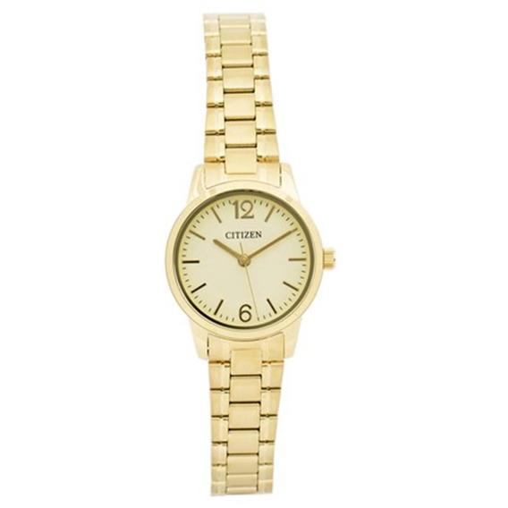 Relógio Citizen Feminino Dourado 50 Metros Tz28440z