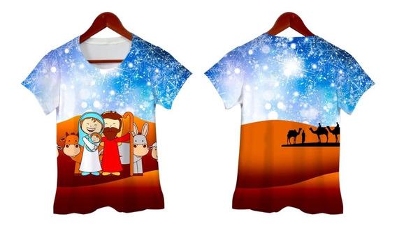 Kit Camisetas Natal