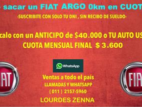 Fiat Argo 1.3 Drive 0km 2018 - Tomo Tu Usado - 4 -