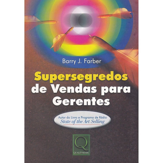 Supersegredos De Vendas Para Gerentes - Barry J. Farber