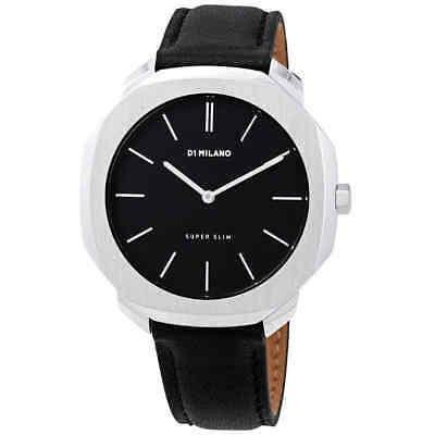 D1 Milano Super Slim Dial Negro Reloj Para Hombre Sslj01