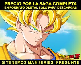 Serie Anime Dragon Ball Z Saga Completa En Hd Envio Digital