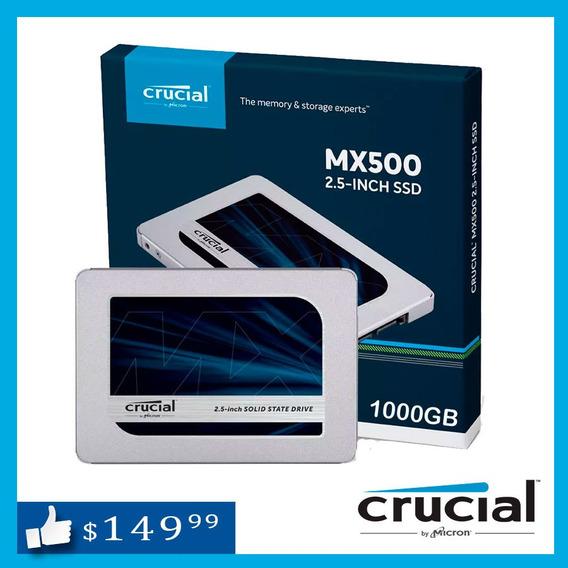 Disco Ssd 1tb Solido Crucial Mx500 Kingston A400 Laptop Y Pc