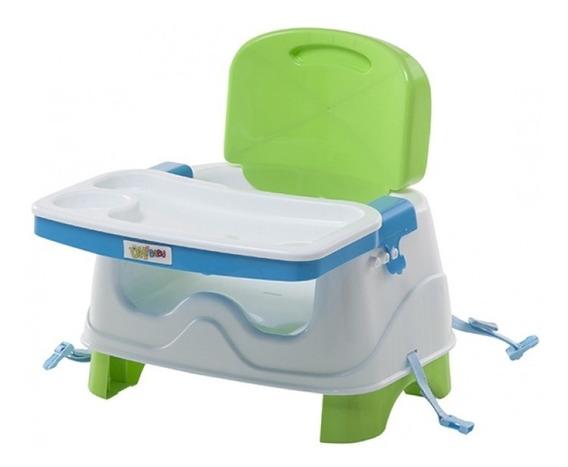 Silla De Comer Para Bebé Booster 2 Alturas Cinturón Práctica
