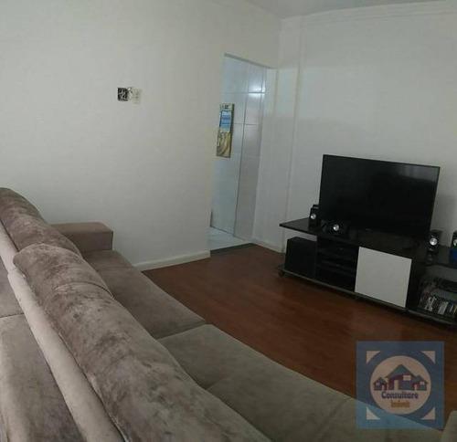 Imagem 1 de 20 de Apartamento Com 2 Dormitórios À Venda, 85 M² Por R$ 350.000,00 - Centro - São Vicente/sp - Ap5292