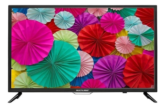TV Multilaser TL001 LED HD 32""