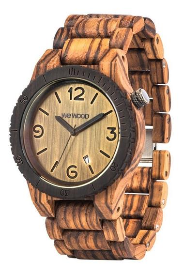 Relógio, Wewood, Alpha Zebrano