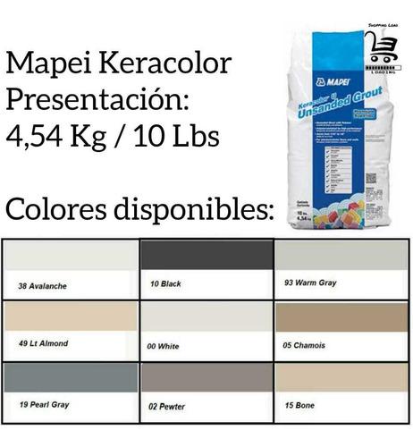 Careteo Mapei Keracolor 4,5kg Gris Perla/pearl Gray (19)