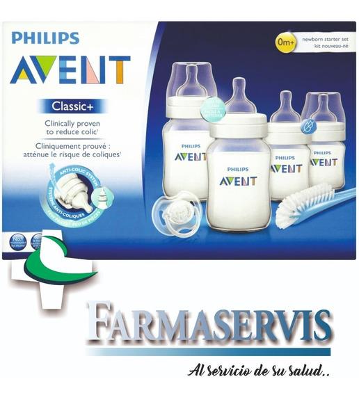 Oferta Set Mamaderas Rn Classic Avent Philips Farmaservis