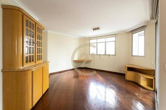Apartamento Com 4 Dormitórios Para Alugar, 196 M² Por R$ 4.800,00 - Higienópolis - São Paulo/sp - Ap17828