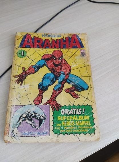 Homem Aranha Nº1 Ed Abril S/figurinhas