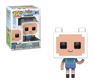 Funko Pop Television Adventure Time Minecraft Finn