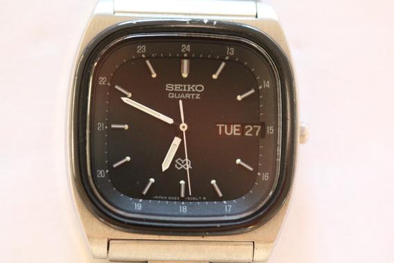 Antigo Seiko Sq Quartz 8223-5060 My795 Raro Estado 1980