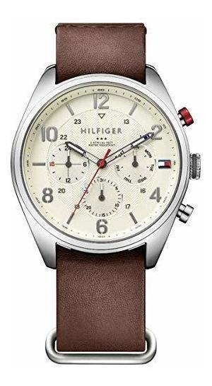 Tommy Hilfiger De Los Hombres 1791188casual Sport Reloj De
