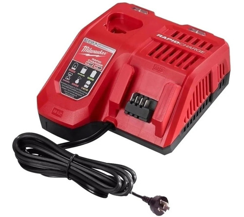 Imagen 1 de 5 de Cargador Rapido De Baterias Milwaukee Compatibilidad M18 M12