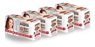 4 Caixas De Cookie Proteico 32 Unidades De 40g All Protein