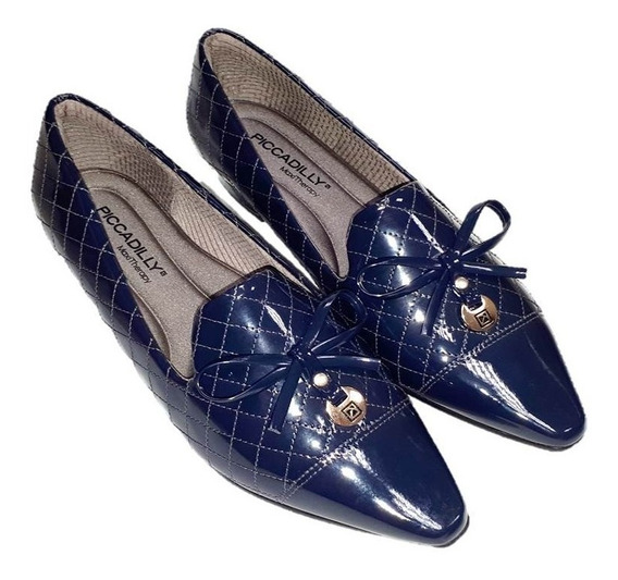 Sapato Feminino Piccadilly Loafer 278017 Em 3 Cores