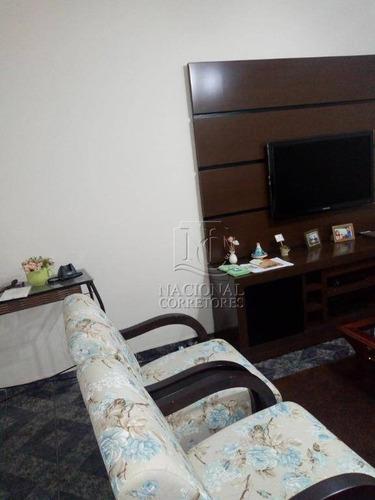 Sobrado Com 3 Dormitórios À Venda, 152 M² Por R$ 530.000 - Jardim Ana Maria - Santo André/sp - So3509