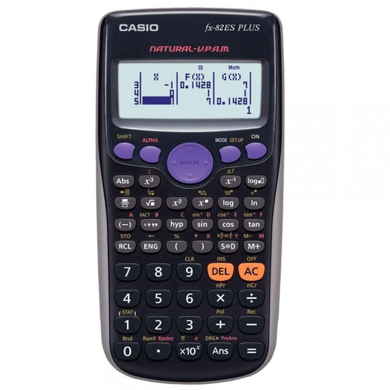 Calculadora Científica Casio Fx-82es Plus Garantia Br