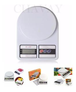 Balanza Cocina Digital 10kg Incluye Pilas Lista Para Usar