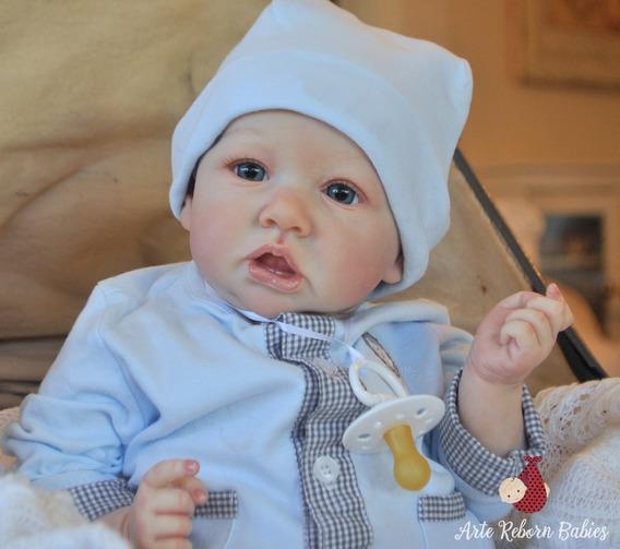 Bebe Reborn Menino Boneca Barata Pronta Entrega Saskia