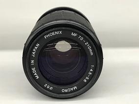 Lente Phoenix Zoom 70~210mm 1:4.5-5.6 P/yashica.