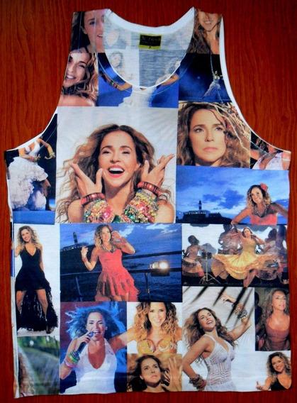 Camiseta Daniela Mercury Regata