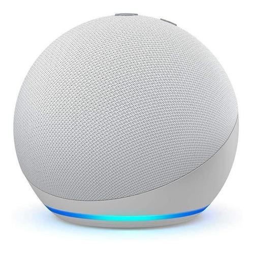 Imagen 1 de 4 de Amazon Echo Dot 4th Gen con asistente virtual Alexa glacier white 110V/240V