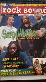 Revista Rock Sound Do Sepultura