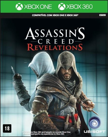 Assassins Creed Revelations Xbox One Português Midia Física