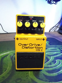 Pedal Boss Os2 Overdrive Distortion Os 2