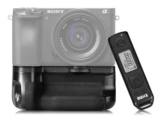 Grip Meike Sony A6300 + Controle + 2 Baterias Np-fw50