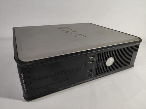 Desktop Dell 380 Core 2 Duo Hd250gb 4gb Ram Usado
