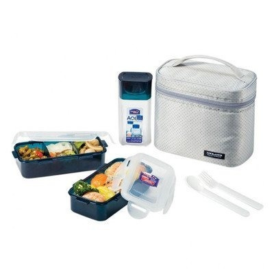 Lock And Lock Zip Bag Lunch Box Set
