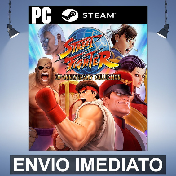 Street Fighter 30th Anniversary Collection Pc Steam Presente