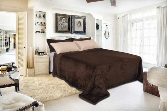 Cobertor Toque De Luxo Cama Casal Queen 240x250 - Europa