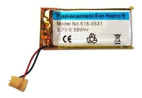 Bateria Apple iPod Nano 6 6th Geração Modelo A1366 Gr